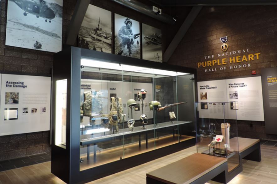 National Purple Heart Hall of Honor Interior